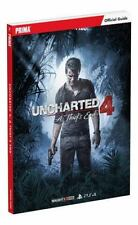 Uncharted 4: A Thief's End Standard Edition Strategy Guide, Prima Games, Tim Bog