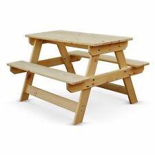 Table de pique nique en bois enfants- PADANO Junior - rectangulaire pour enfants