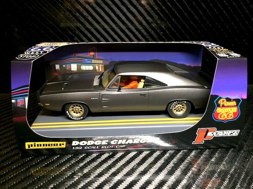 Pioneer P088 Route 66 Hemi Charger Midnight Grey, Limited Edition, mint unused f