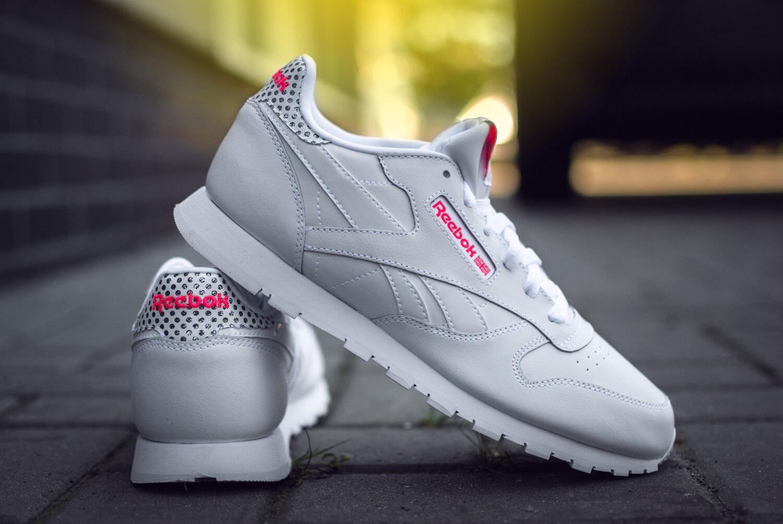 el mas de moda     rebajas  reebok cl Leather Girl Squ cm9137 señora calzado deportivo cortos Weiss  para proporcionarle una compra en línea agradable