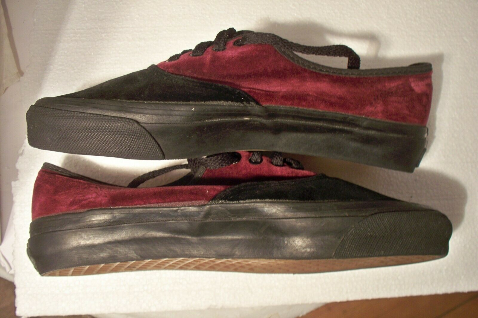 Vintage Rare HTF Vans Made In USA Velvet Shoes Wo… - image 10