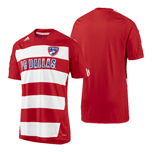 965316d66 adidas FC Dallas MLS USA Soccer Football Shirt Jersey Home Top Mens Size  Med