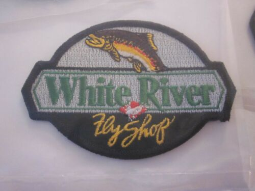 "BASS PRO SHOPS WHITE RIVER PATCH /""1/"" OUTDOOR WORLD 4X3 INCHES FACTORY SEALED #18"