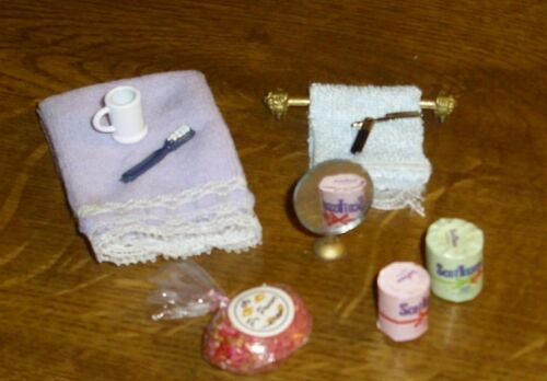 Badezimmerset  alles für das Bad - großes Konvolut - 7 - Miniatur 1:12