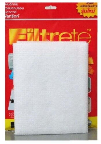 """3M FILTRETE AIRCON CLEANING FILTER A//C DUST ELECTROSTATIC FIBERS 15X24/"""" 2 PACKS"""
