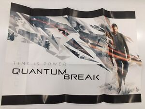 Quantum Break Timeless Collectors Edition A3 Double-sided Poster Seulement Uk Neuf-afficher Le Titre D'origine