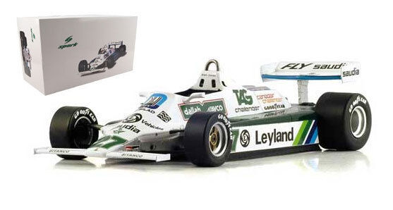 Spark 18S117 Williams FW07B 1980 World Champion - Alan Jones 1 18 Scale