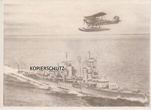 U-BOOT-KRIEG-ORIGINAL-AK-DIE-DEUTSCHE-WEHRMACHT-BORDFLUGZEUG-EDITION-LANA-CARDS