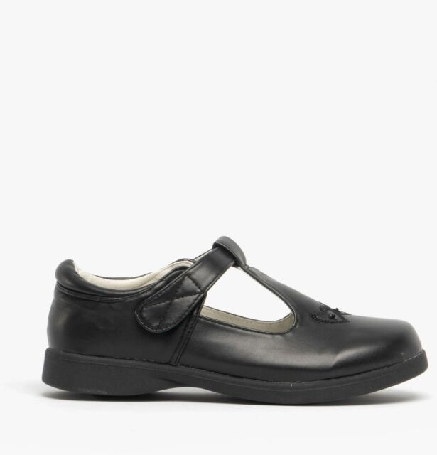 TODDLER KIDS GIRLS CLARKS LEATHER CASUAL MARY JANE SCHOOL SHOES ROCK SPARK SIZE