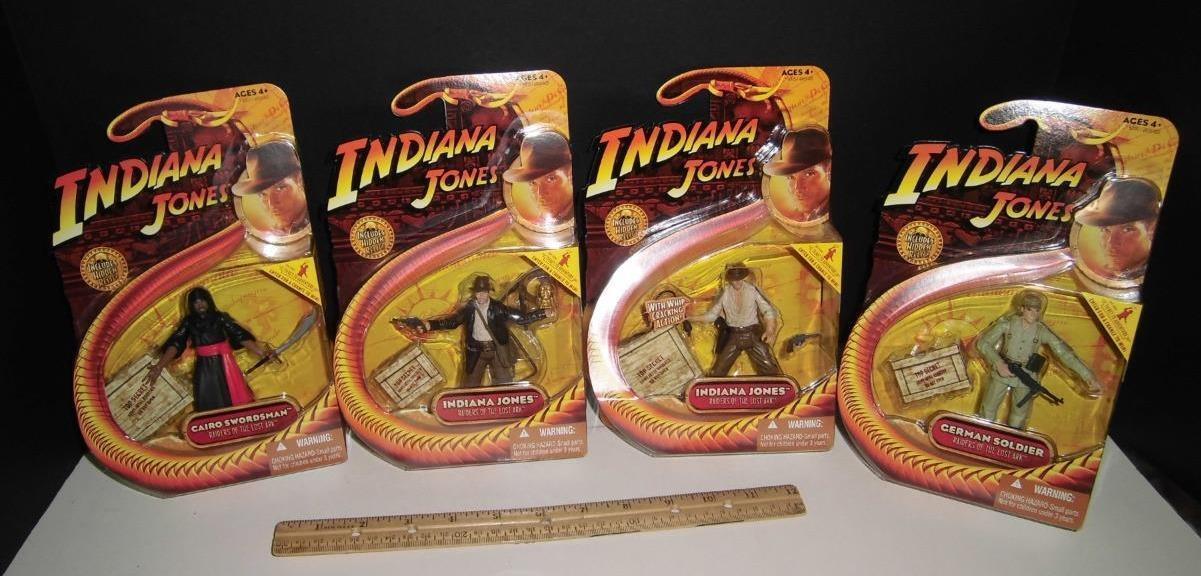 Indiana jones reihe 1 - 4 - hasbro - indy 2008 fechter   soldat 3,75