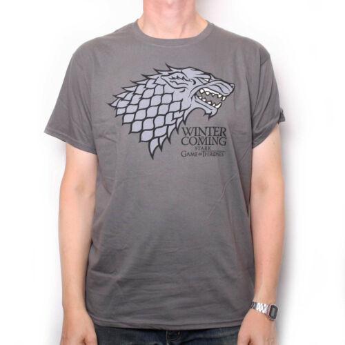100/% Official Stark Logo Last Few SALE! Game Of Thrones T Shirt