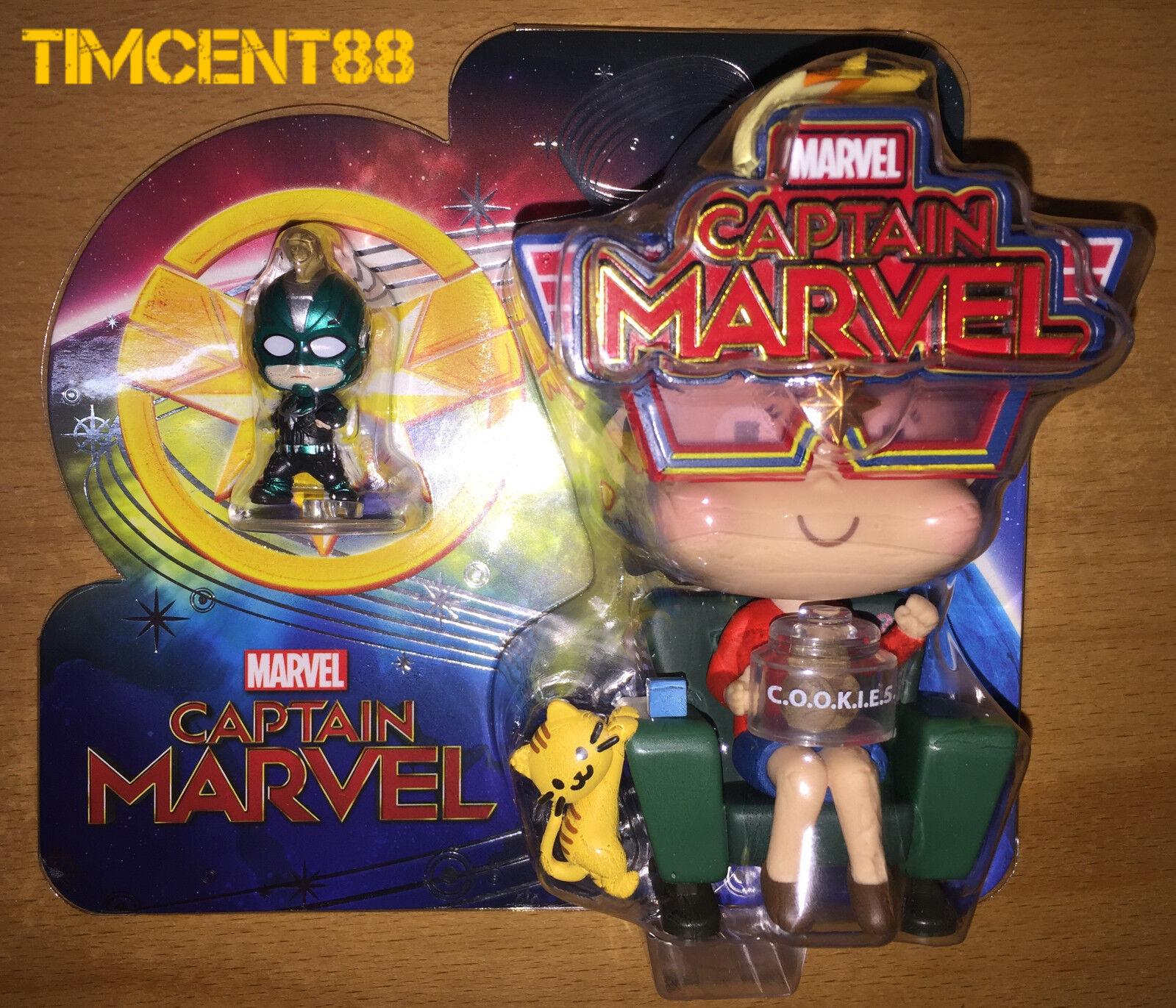 Hot Toys Cosbaby Marvel Avengers Captain Marvel Movbi Set Season Greetings 2018