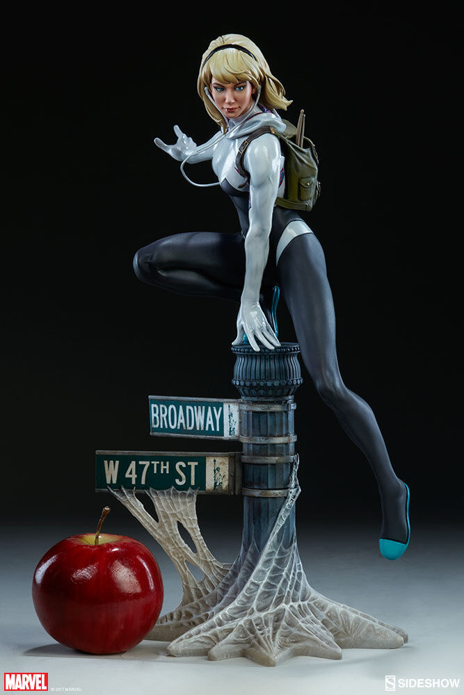 Marvel Collectible 16 Inch Statue Maquette - Spider-Gwen Sideshow 200507