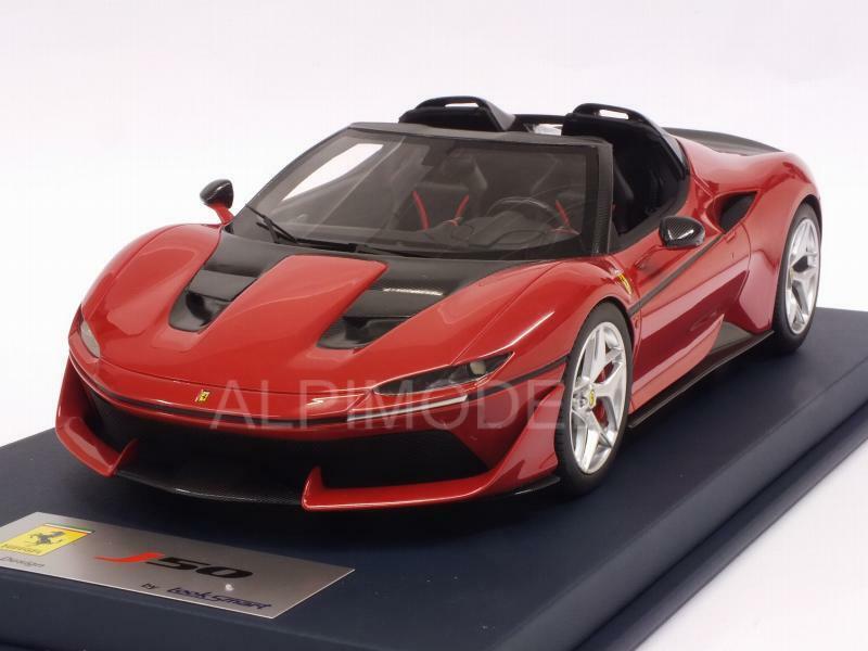 Ferrari J50 rouge TRS Shiny 1 18 LOOKSMART LS18016A