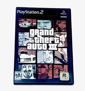 Grand Theft Auto III (Sony PlayStation 2, PS2, 2003) Tested Manual