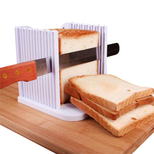 Pro pain trancheuse Cutter Mold Toast pain Découper Tranchage Maker Guide Cuisine Outil