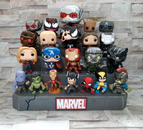 Display Stand Xl Marvel Funko Pops