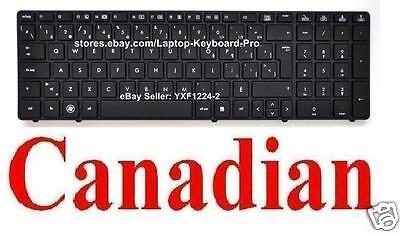 Canadian French CF Keyboard for HP Probook 6560B 6565B 6570B 6575B