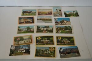Vintage Postcard Lot Old Hollywood Movie Stars Film Palm Springs Homes Collect