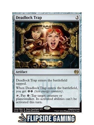4x Deadlock Trap Kaladesh SP or Better ~Flipside2~