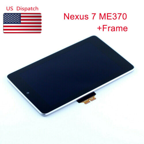 For Google Nexus 7 1st ME370 ME370T ME370T  LCD Touch Screen Frame Assembly US