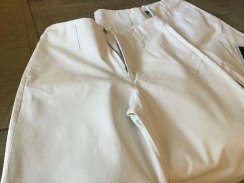 J Peterman ladies white sailor pants size 4
