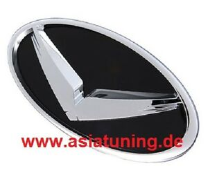 Adler-Emblem-vorne-fuer-den-Grill-Hyundai-Genesis-Coupe-Tuning-Zubehoer-schwarz
