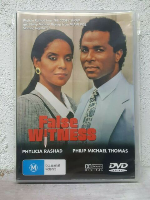 American Justice DVD AKA: False Witness 1989 Phylicia Rashad TV MOVIE B-GRADE