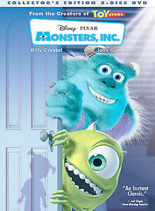Monsters Inc Dvd 2002 2 Disc Set Collectors Edition For Sale Online Ebay