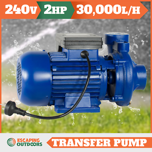 Water Transfer Pump 500 l/pm 50mm in/outlet Model 2DK20 2 HP