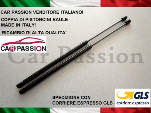 COPPIA MOLLE GAS MERCEDES CLASSE C SW 96-02 PISTONI PORTELLONE COFANO POSTERIORE