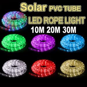 brand new 3cdf1 30ab1 Solar 10M 20M 30M LED Rope Light PVC Hard Tube Party ...