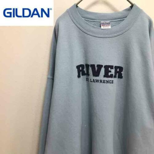 Gildan Sweatshirt River Embroidery XL Size XL LL