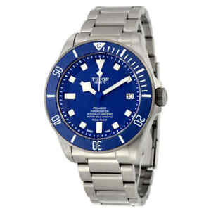 Tudor-Pelagos-Chronometer-Automatic-Blue-Dial-Men-039-s-Watch-M25600TB-0001