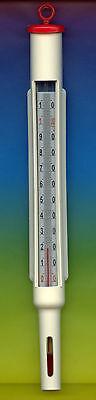 Sinnvoll Milchthermometer-käsethermometer -10+110°c -rot- Joghurt Butter-käse-milch Im Sommer KüHl Und Im Winter Warm