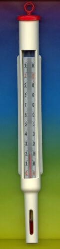 Macerado termómetro 10+110 ° C en 1 ° C-rojo-termómetro queso en carcasa de plástico