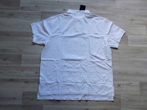slim fit xl manica da Polo Lauren Ralph bianca corta Polo Maglia uomo Nuovo Gr H7PUqw