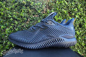 huge discount 90e33 94af0 Image is loading ADIDAS-ALPHABOUNCE-AMS-M-SZ-8-MYSTERY-BLUE-