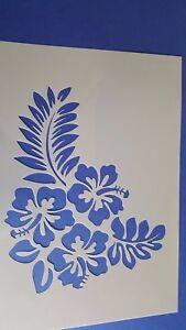 Pochoirs 705 Fleurs Vigne vintage stanzschablone Stencil Stickers muraux la fresque  </span>