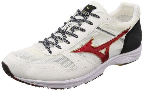 27cm MIZUNO Running Shoes WAVE EMPEROR JAPAN 3 J1GA1875 White Red US9