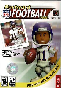 Backyard-Football-2006-Pc-New-Sealed-Retail-Box-Free-US-Shipping-Very-Nice-XP