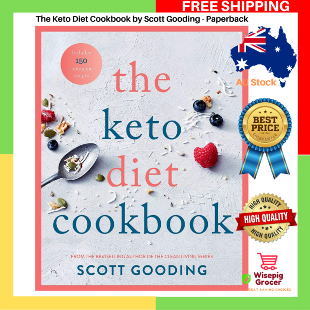NEW The Keto Diet Cookbook by Scott Gooding Paperback Recipes Book FREE SHIPPING