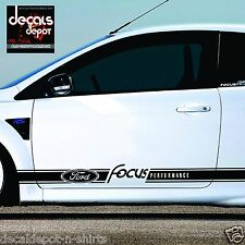 Decal Vinyl Fits FORD Focus RS, SE, ST Trend, Sport HatchbckTinanium  2005 to 15