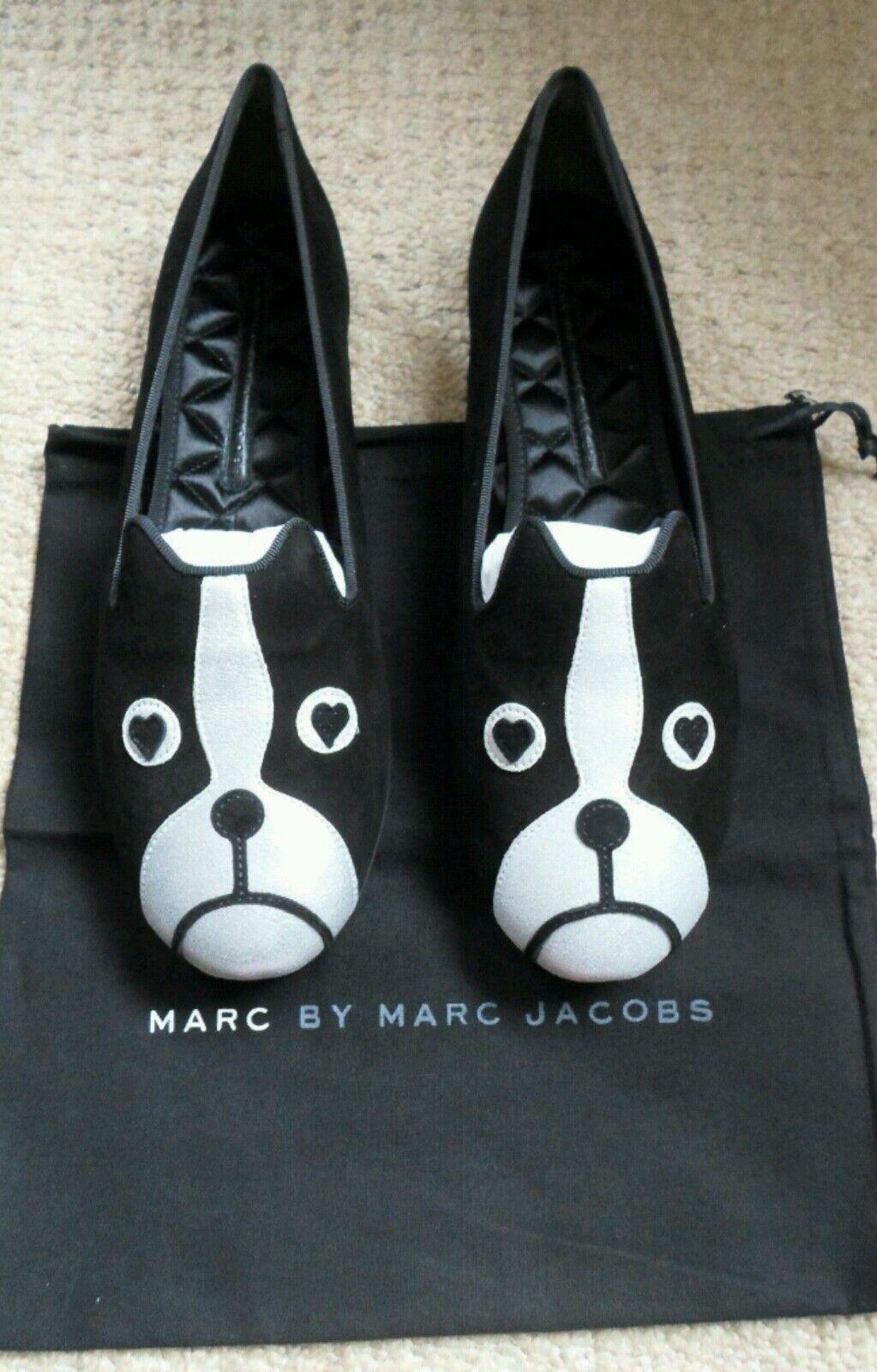 Nuevo Y En Caja Marc By Marc Marc Marc Jacobs, amigos míos, Boston Terrier, Perro, Talla 6 (39) 225.00 EUR  clásico atemporal