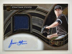 2021 Select Rookie Jersey Signatures Auto #JS Jonathan Stiever /299 White Sox RC