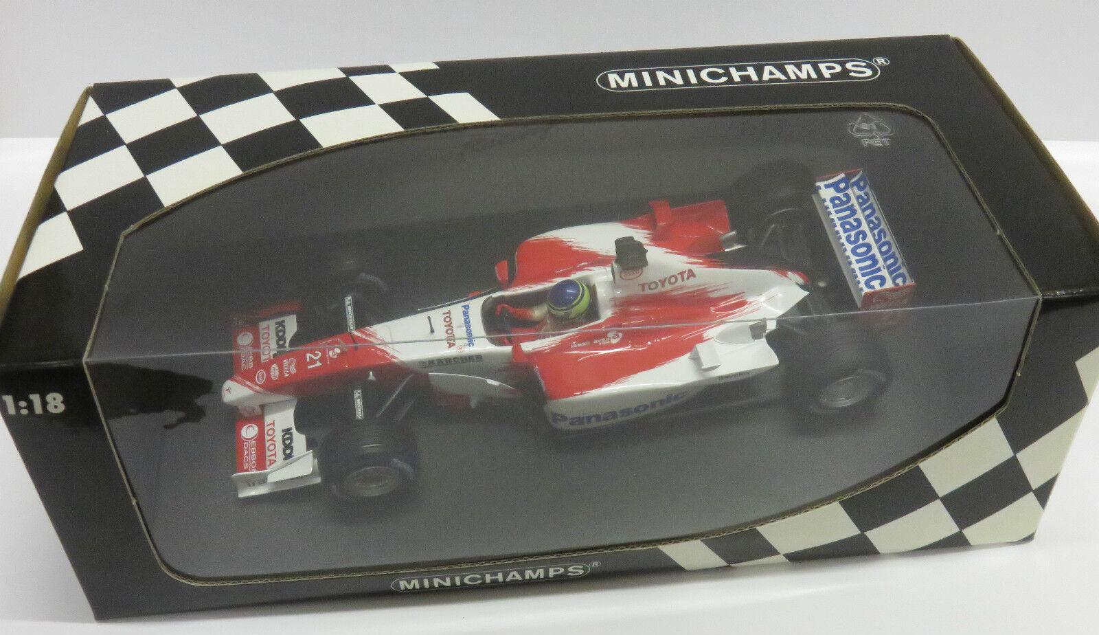1 18 Panasonic Toyota Racing TF103   C.da Matta   Season 2003