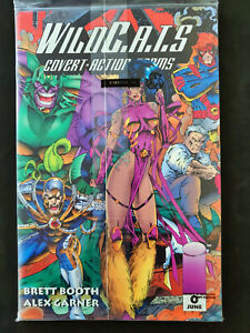 Wildcats-Covert-Action-Team-Graphic-Novel-TPB-Image-Comics-Polybagged-with-0