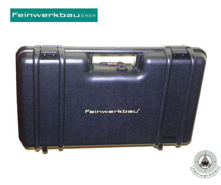 Feinwerkbau FWB Waffenkoffer mit Noppeneinlage Noppeneinlage Noppeneinlage TOP Gun or Pistol case 63dc67