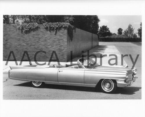 Ref. #30441 Factory Photo 1963 Cadillac Eldorado Biarritz Convertible Coupe
