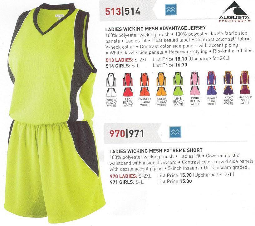 10 Softball Team Jerseys Shirts Uniforms AUGU Ladies Girls School  kit